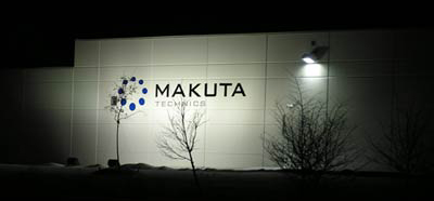 Makuta Technics Micro Molding plant at night