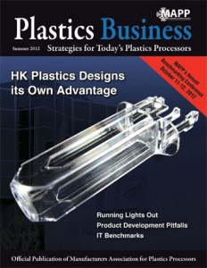 Plastics Business article on Makuta Micro Molding